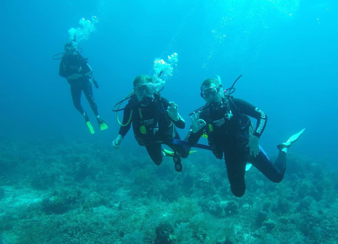 Scuba Diving on Vacation