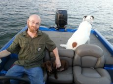 Adoptive Family Photo: Heading Out on the Boat, click to view bigger version