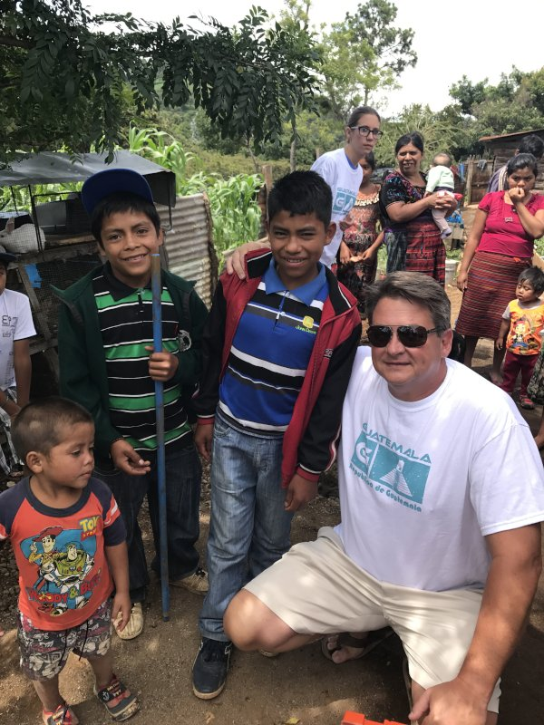 John Working With Children in Guatemala