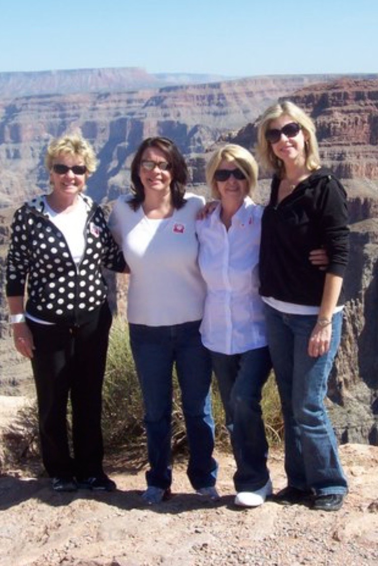 Tara at the Grand Canyon with Her Family