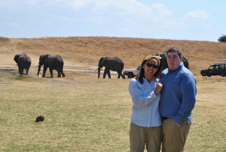 Enjoying the View in Tanzania
