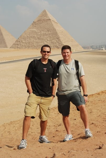 Brad Exploring Egypt