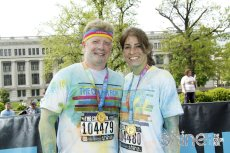 Adoptive Family Photo: Just Finished the Color Run, click to view bigger version