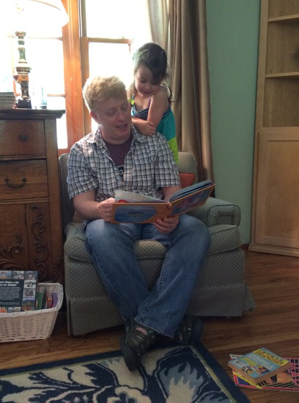 Reading with Uncle Trey