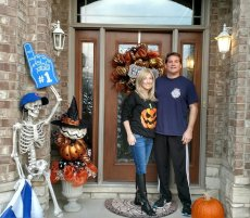 Adoptive Family Photo: Ready for Trick-or-Treaters!, click to view bigger version