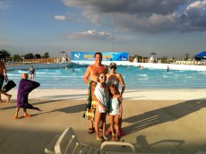 Adoptive Family Photo: A Day at the Waterpark With Our NIeces, click to view bigger version