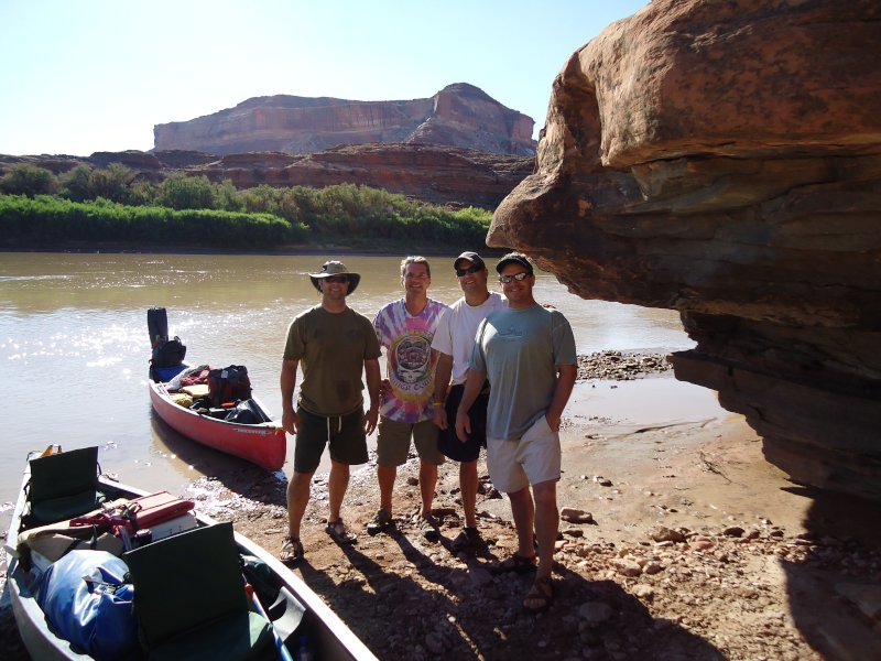 Dan Canoeing in Utah
