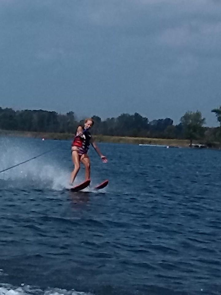 Marla Water Skiing