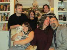 Adoptive Family Photo: Our Annual Goofy Christmas Photo, click to view bigger version