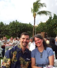 Adoptive Family Photo: Hawaiian Luau, click to view bigger version