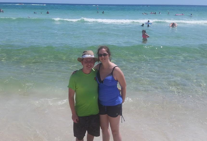 Beach Day in Panama City