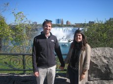 Adoptive Family Photo: Visiting Niagara Falls, click to view bigger version
