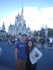 Adoptive Family Photo: Fun at Disney World, click to view bigger version