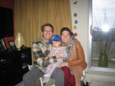 Adoptive Family Photo: Visiting Our Niece in Canada, click to view bigger version
