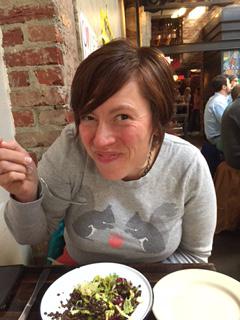Elizabeth Enjoying a Fun Lunch with Heather