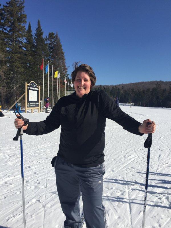 Heather Skiing