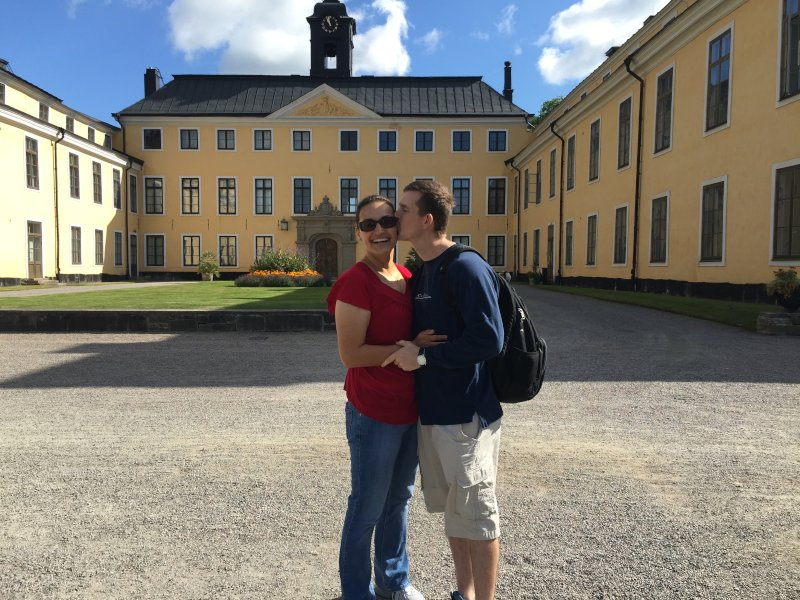Stealing a Kiss in Sweden