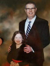 Adoptive Family Photo: Daddy Daughter Dance, click to view bigger version
