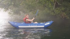 Adoptive Family Photo: Laine Kayaking the Hiwassee River, click to view bigger version