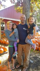 Adoptive Family Photo: Trip to the Pumpkin Patch, click to view bigger version