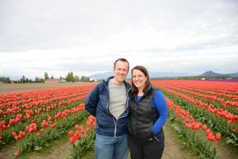 Exploring a Tulip Farm