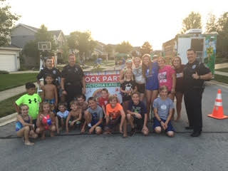 Block Party With the Neighborhood Kids