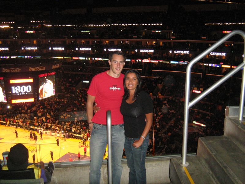 Our First Lakers Game