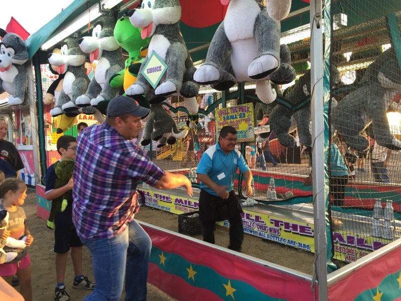 Ben at the Fair