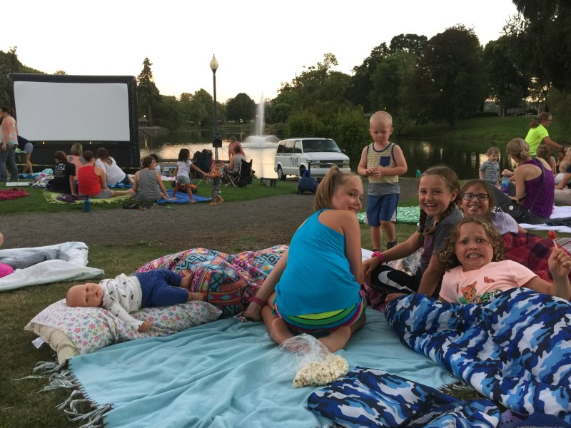 Our Neighborhood Outdoor Movie