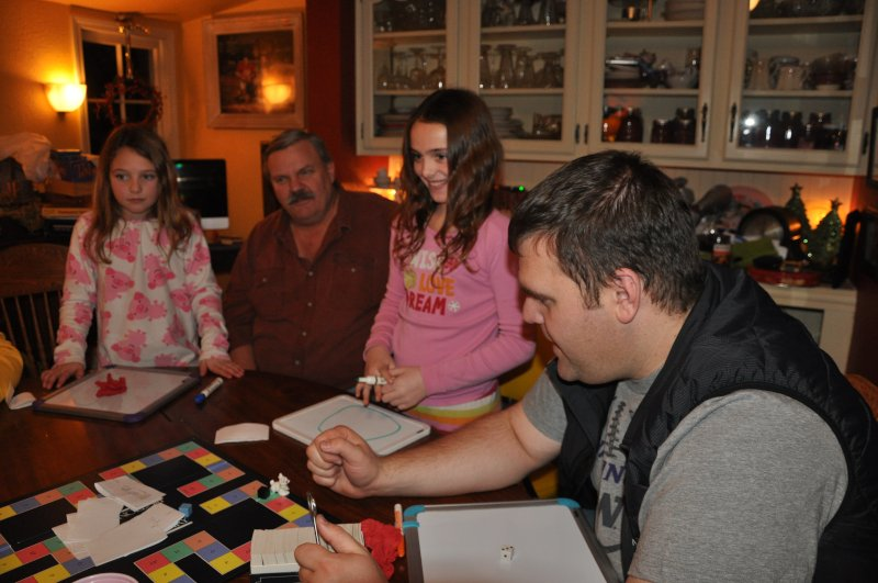Playing Games with the Family