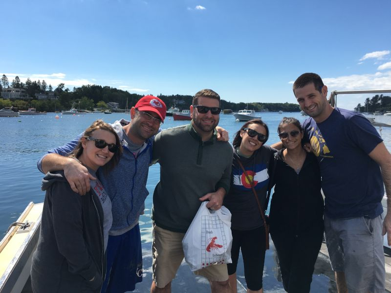 Catching Lobster with Friends in Maine