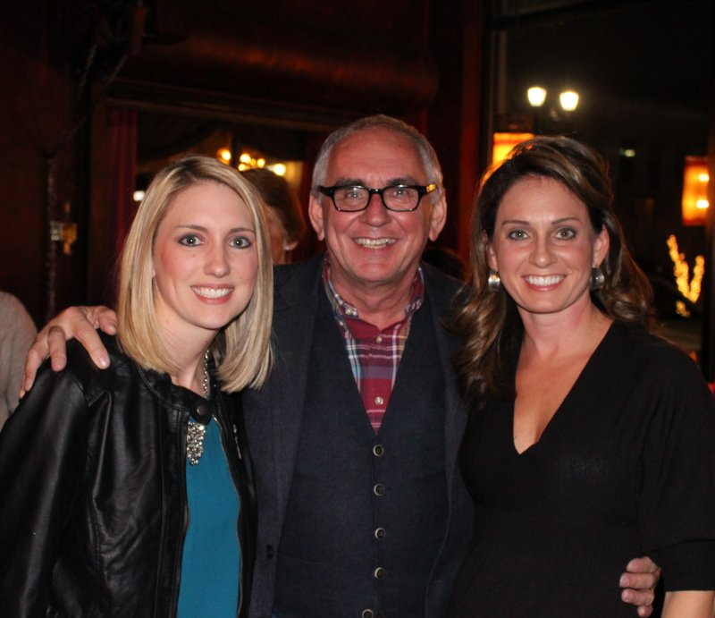 Katie with Her Dad and Sister