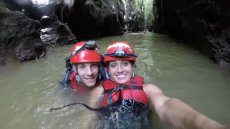 Adoptive Family Photo: An Adventure in the Caves of Puerto Rico, click to view bigger version