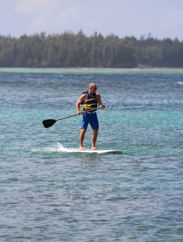 Paddle Boarding is One of Our Favorite Activities