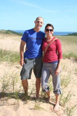 Adoptive Family Photo: Hiking the Sand Dunes, click to view bigger version