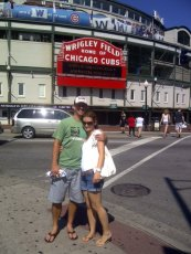 Adoptive Family Photo: Go Cubbies!, click to view bigger version