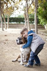 Adoptive Family Photo: Who Wouldn't Love this Dog?, click to view bigger version