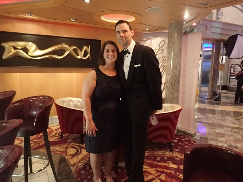 Formal Night on the Cruise Ship