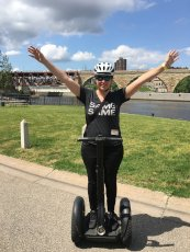 Adoptive Family Photo: Cassi Loving Minneapolis by Segway, click to view bigger version