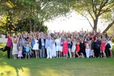 Adoptive Family Photo: Our Entire Wedding Party in Cape Town, South Africa, click to view bigger version