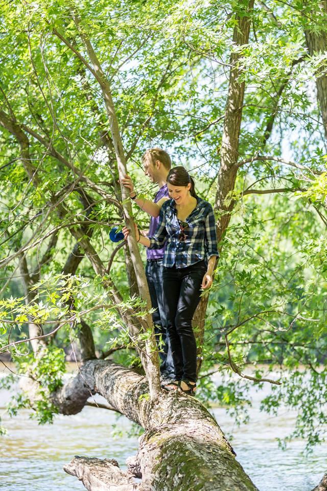 Climbing a Tree!