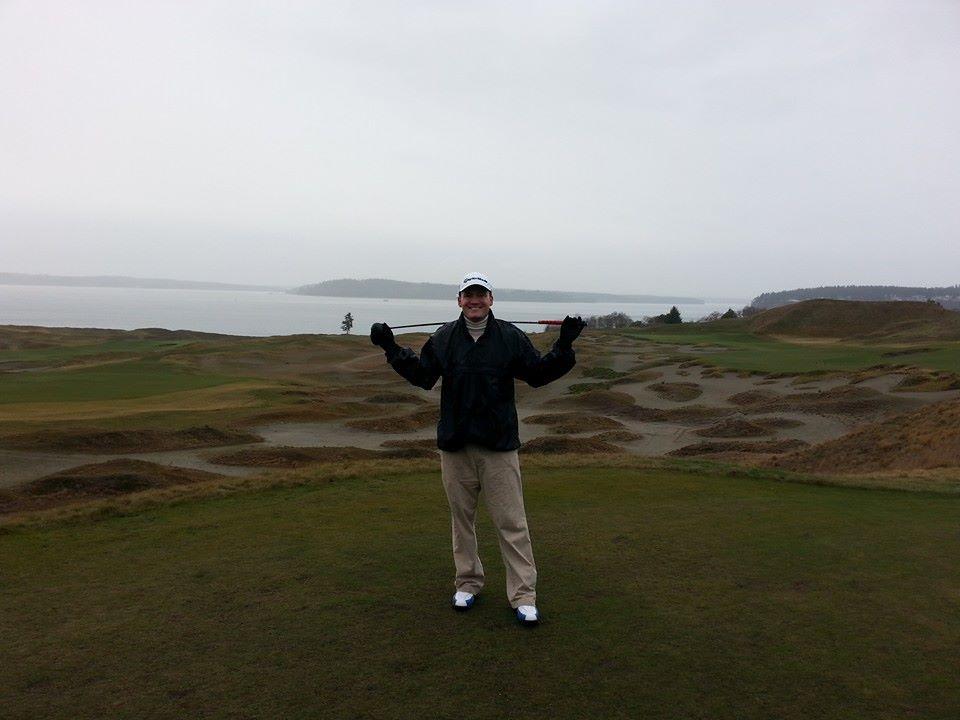 Blake Loves to Golf