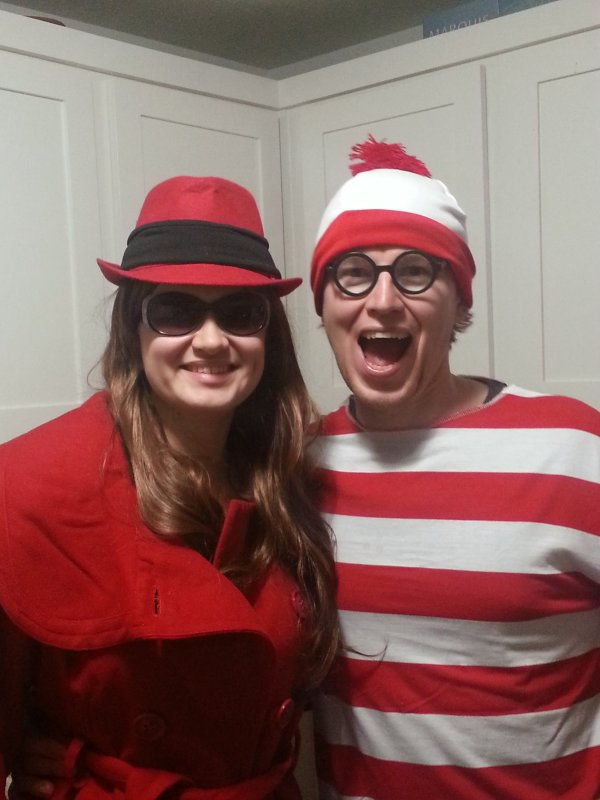 Carmen Sandiego & Waldo on Halloween
