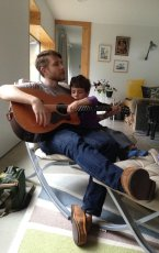 Adoptive Family Photo: Josh Jammin with Our Friend Noah, click to view bigger version