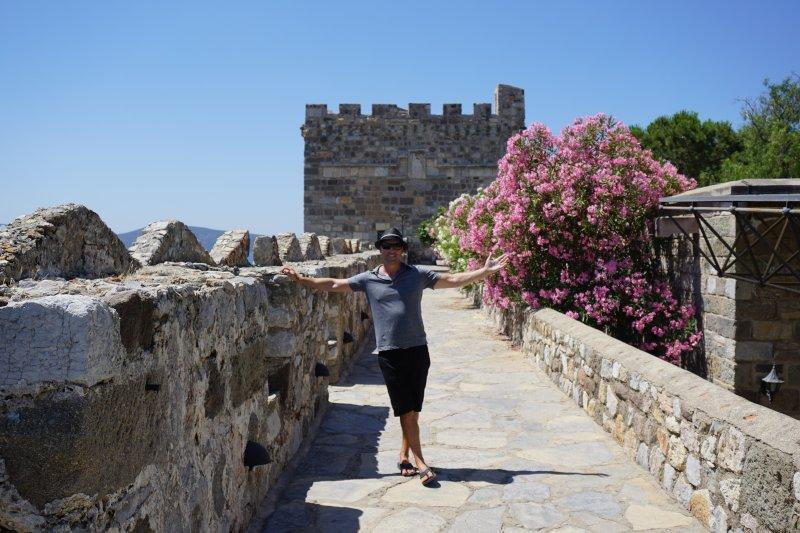 Exploring a Castle in Turkey