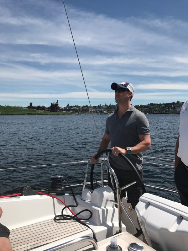 Captain Jon Sailing