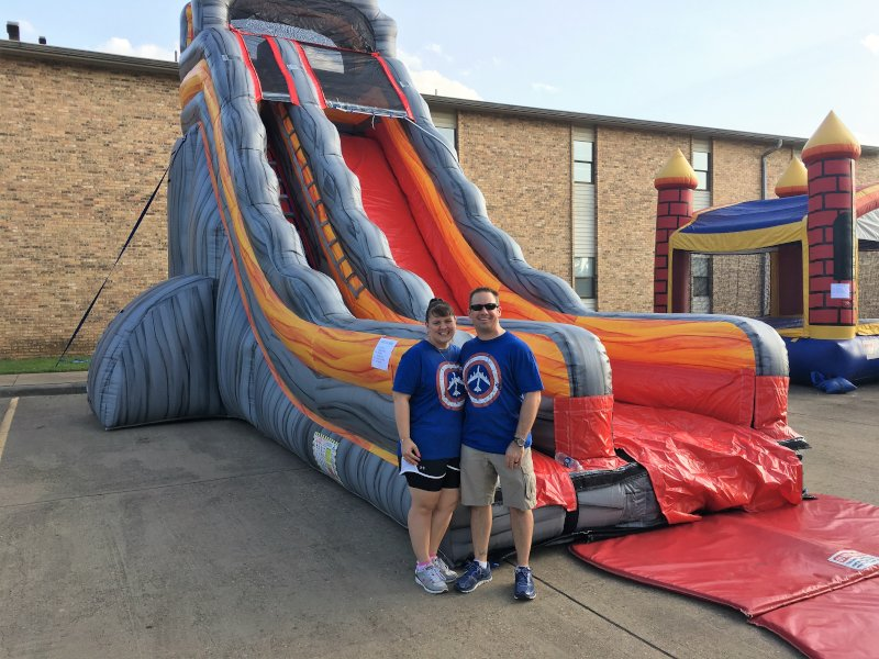 Helping Out at Our Church Fourth of July Festival