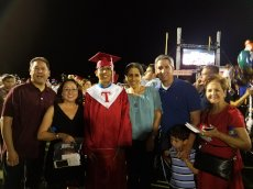 Adoptive Family Photo: Our Nephew's Graduation, click to view bigger version