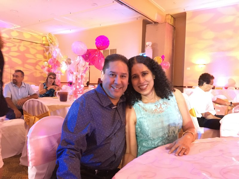 Celebrating Our Niece's Quinceanera