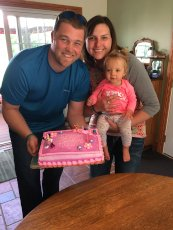 Adoptive Family Photo: Our Niece's First Birthday